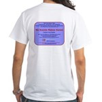 No Scents Makes Sense White T-Shirt
