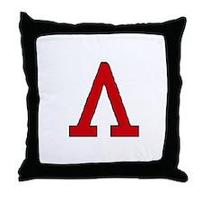 Lambda Throw Pillow