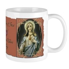 2 Sacred Hearts Mugs