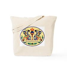 Quetzalcoatl Golden Tote Bag