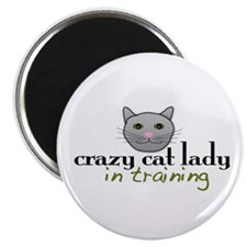 Cat Lady Training Magnet
