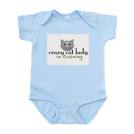 Cat Lady Training Infant Bodysuit