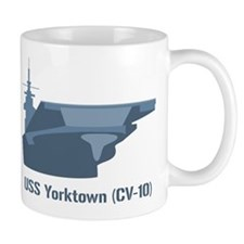 USS Yorktown Mugs