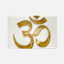 Gold Om Magnets