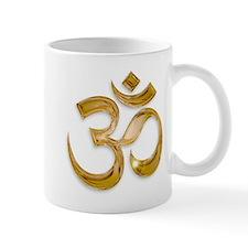 Gold Om Mugs
