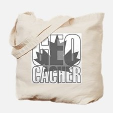Gray Leaf Geocacher Tote Bag