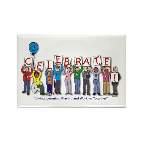 Diversity! Rectangle Magnet (100 pack)