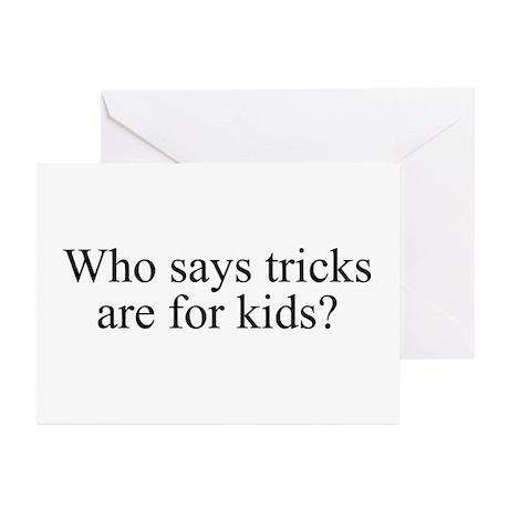 Tricks Greeting Cards (Pk of 10)