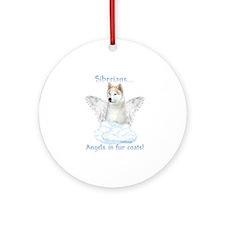 Sibe Angel Ornament (Round)