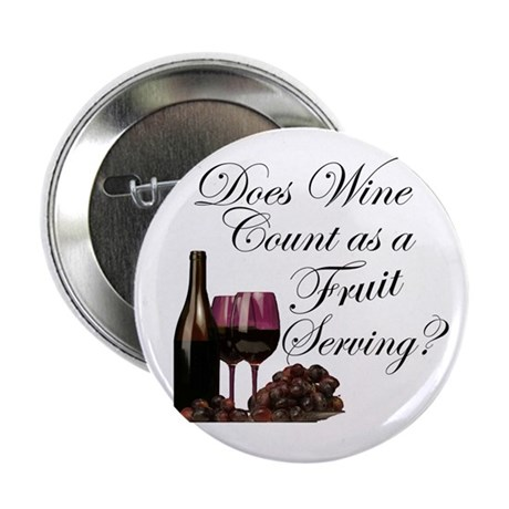 Wine is Fruit? Button