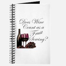 Wine is Fruit? Journal