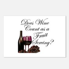 Wine is Fruit? Postcards (Package of 8)