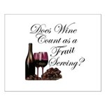 Wine is Fruit? Small Poster
