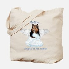 Sheltie Angel Tote Bag