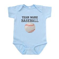 (Team Name) Baseball Body Suit