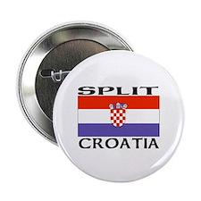 Split, Croatia Button