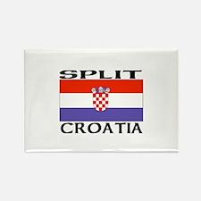 Split, Croatia Rectangle Magnet
