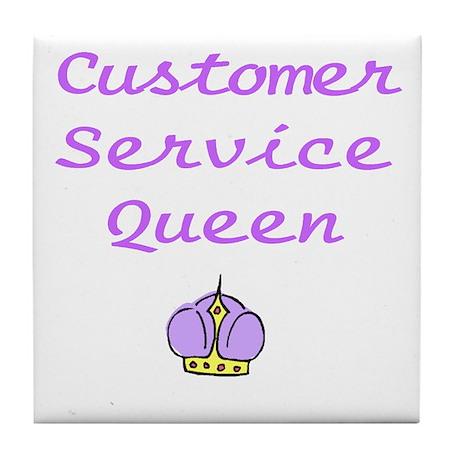 Customer Service Queen Tile Coaster