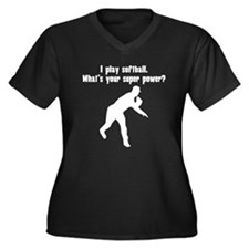 I Play Softball. Whats Your Super Power? Plus Size