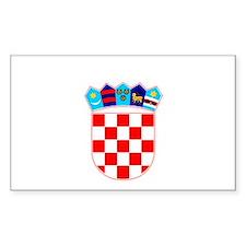 Split, Croatia Rectangle Decal