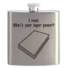 I Read. Whats Your Super Power? Flask