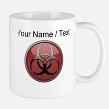 Custom Biohazard Symbol Mugs
