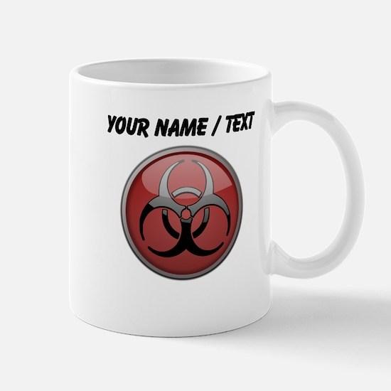 Custom Biohazard Symbol Mugs