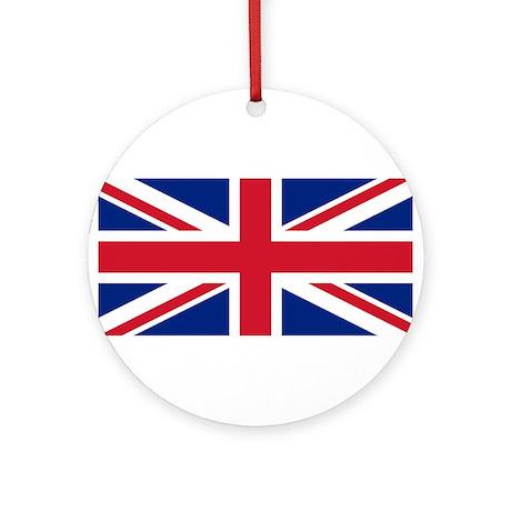 Union Jack Ornament (Round)