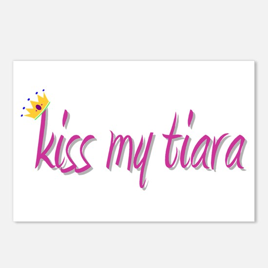 Kiss My Tiara Postcards (Package of 8)