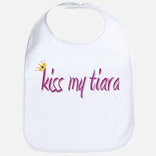 Kiss My Tiara Bib