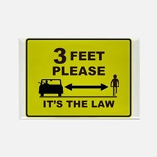 3 Feet Please Rectangle Magnet