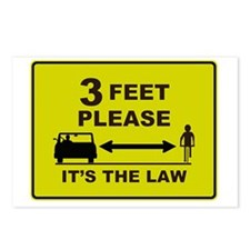 3 Feet Please Postcards (Package of 8)