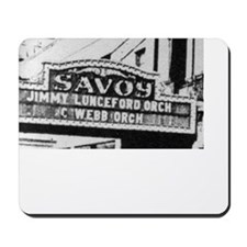 Savoy Marquee Mousepad