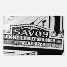 Savoy Marquee Postcards (Package of 8)