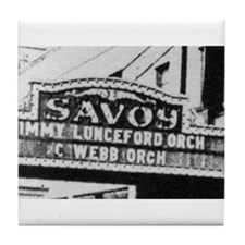 Savoy Marquee Tile Coaster