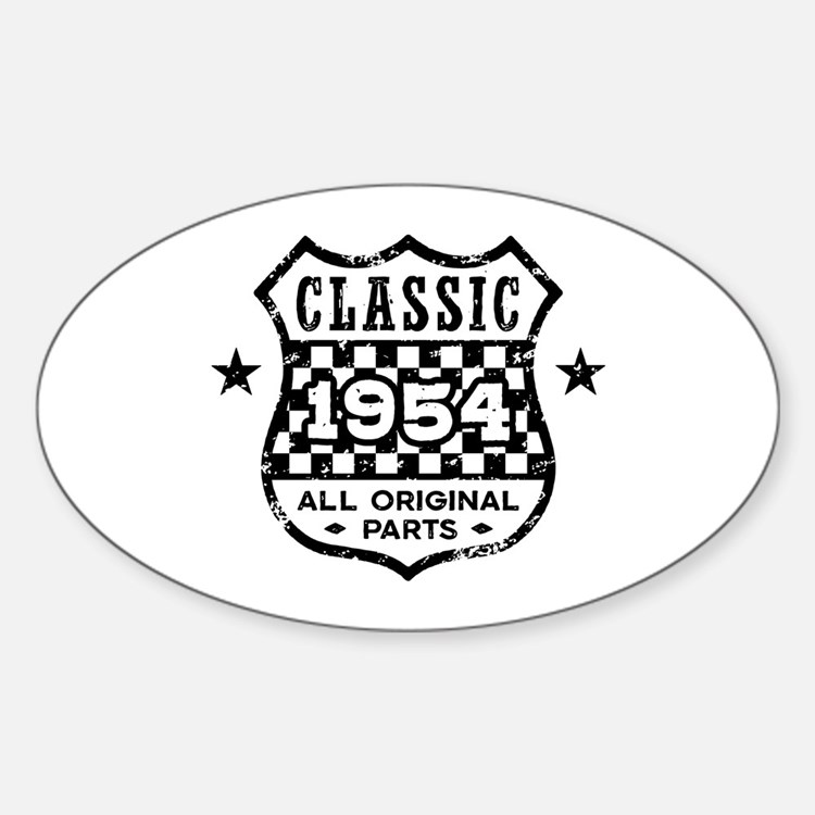 Classic 1954 Decal