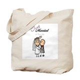 25th wedding anniversary Canvas Totes