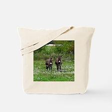 Two Miniature Donkeys (2) Tote Bag