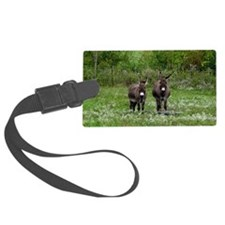 Two Miniature Donkeys (2) Luggage Tag