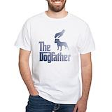 Bull terriers Mens White T-shirts