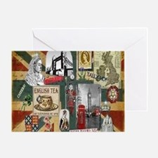 Anglophiles Delight Greeting Card