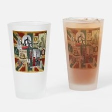 Anglophiles Delight Drinking Glass