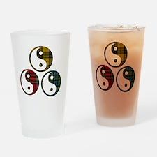 A Peace of Tartan Drinking Glass
