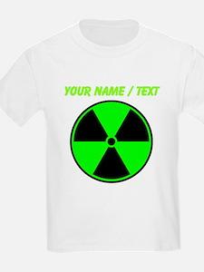 Custom Green Radioactive Symbol T-Shirt