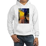 Cafe & Black Lab Hooded Sweatshirt