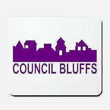 Council Bluffs Iowa Mousepad