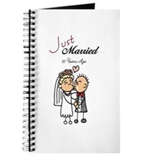 Just Married 10 years ago Journal