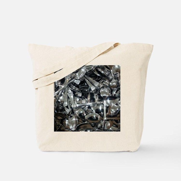 Bin of Spoons Tote Bag