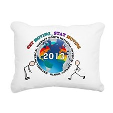 physical therapy 2013 SH Rectangular Canvas Pillow