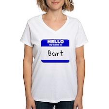 hello my name is bart Shirt